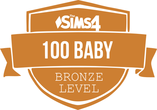 100 Baby Challenge Bronze Badge