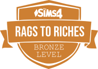 Rags to Riches Bronze Badge