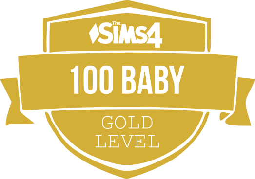 100 Baby Challenge Gold Badge