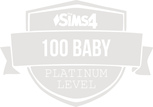 100 Baby Challenge Platinum Badge