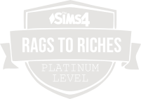 Rags to Riches Platinum Badge