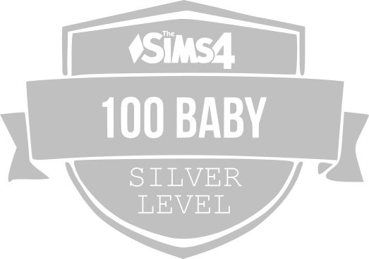 100 Baby Challenge Silver Badge