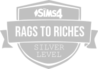 Rags to Riches Silver Badge