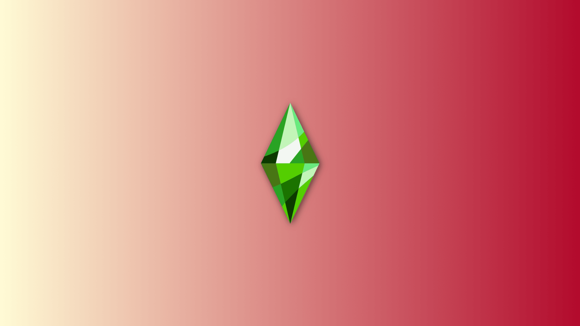 Sims Relaxing Red Wallpaper